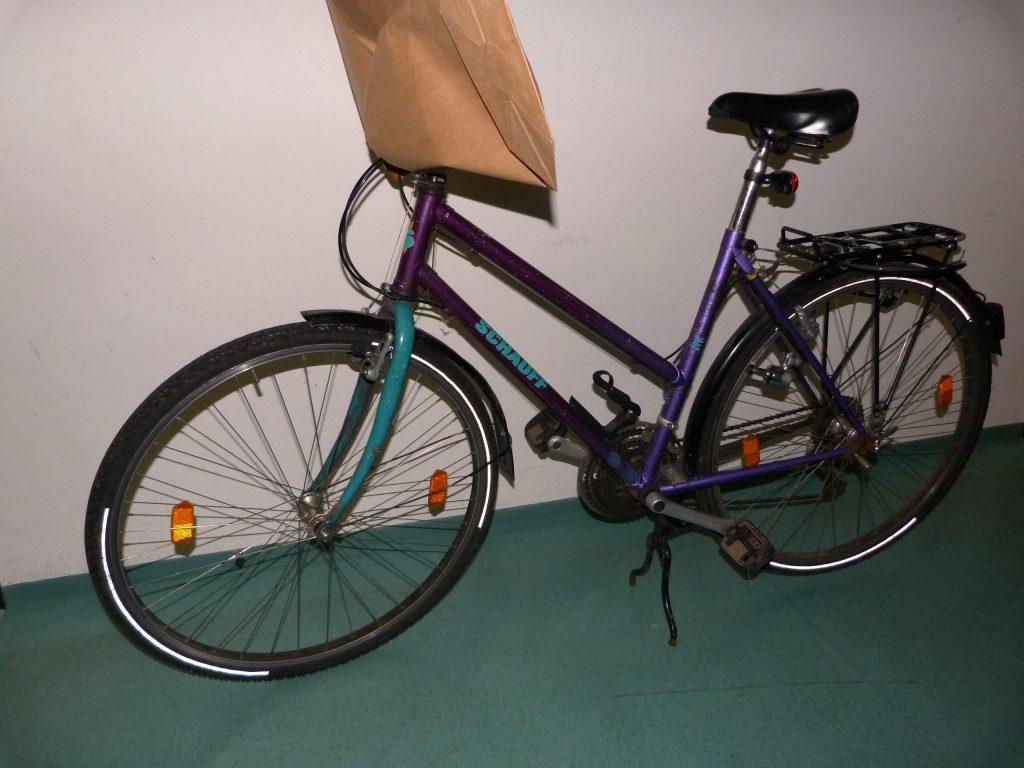 Fahrrad von der Dreisam, herrenlos (Quelle: Polizei)