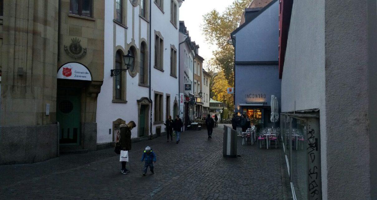 Freiburg Altstadt Drogen