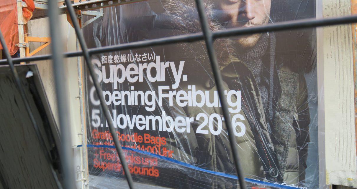 Superdry kommt nach Freiburg