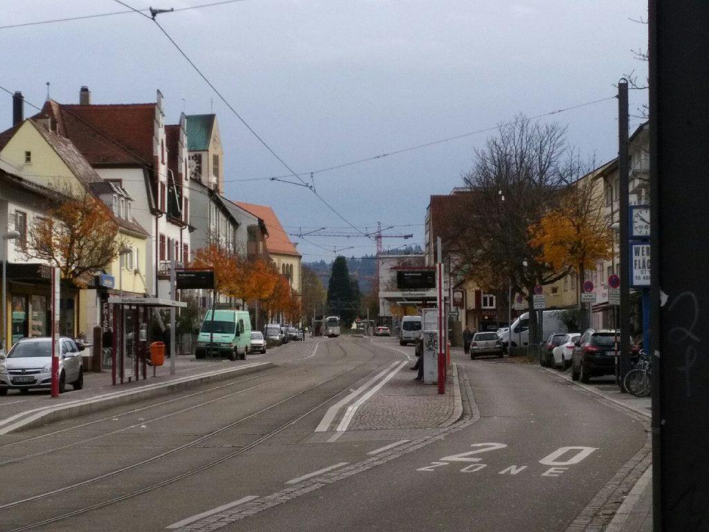 Auf der Carl-Kistner-Strasse fiel das Bergamont-Fahrrad auf dem Rücken eines vermeintlichen Fahrrad-Diebes auf