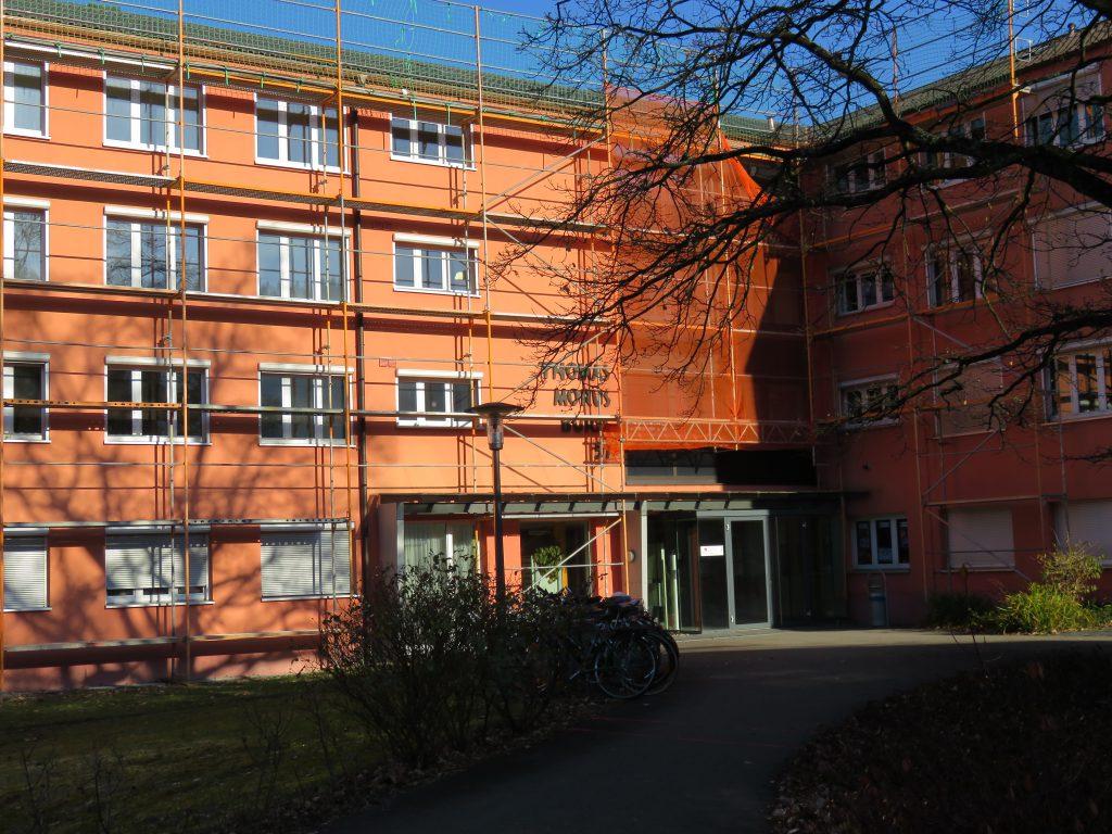 Marias Studentenwohnheim in Freiburg