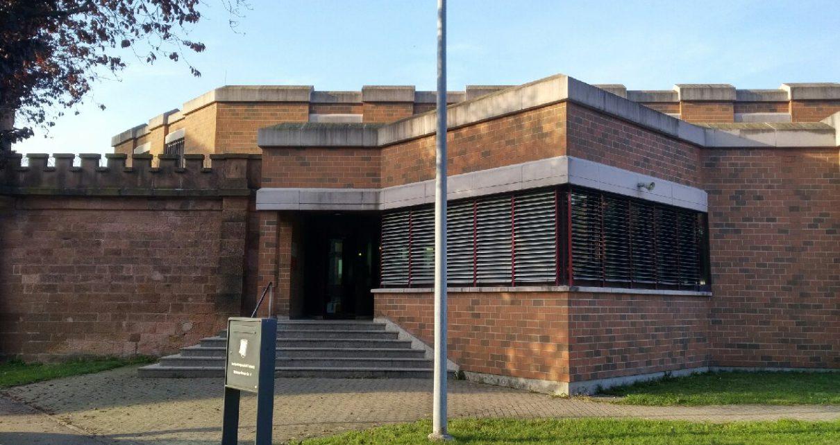 JVA Freiburg Eingang Gefängnis
