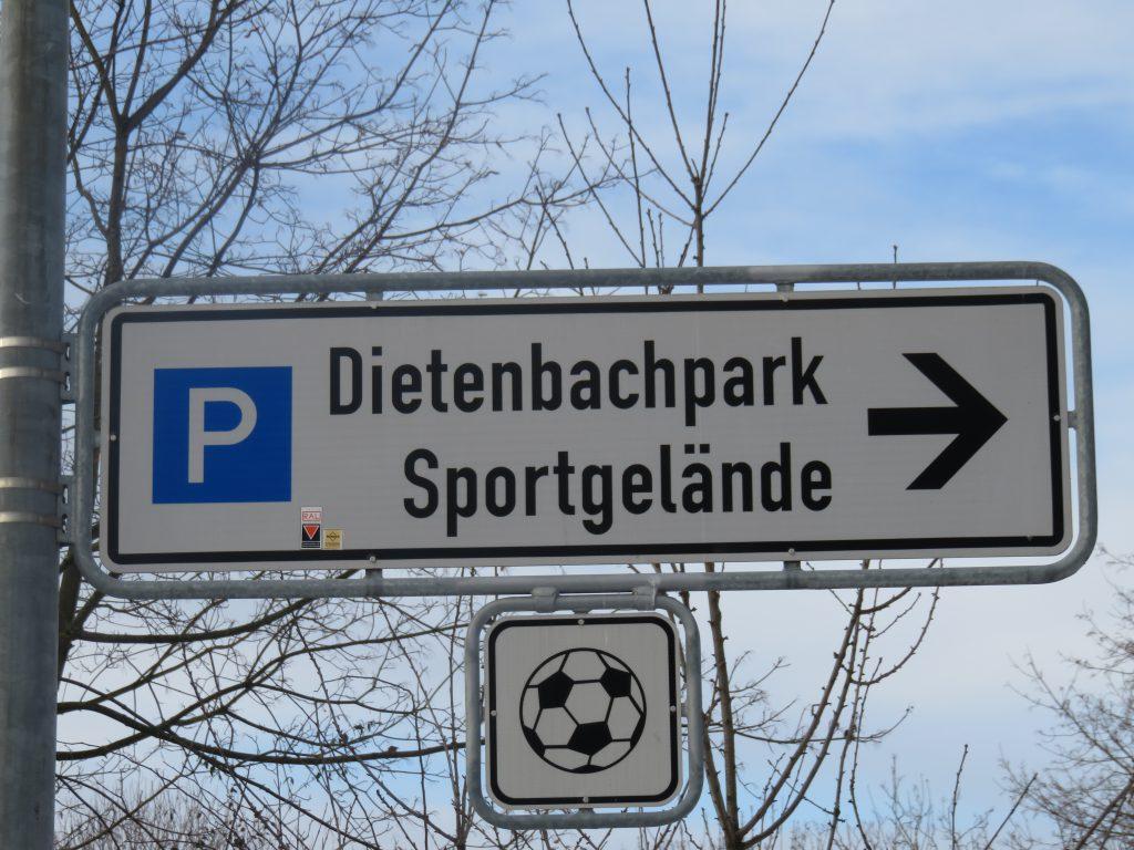 Dietenbachpark in Freiburg Schauplatz eines Raubüberfalls