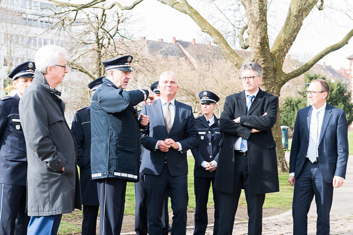 Strobl und Salomon für mehr Polizei in Freiburg