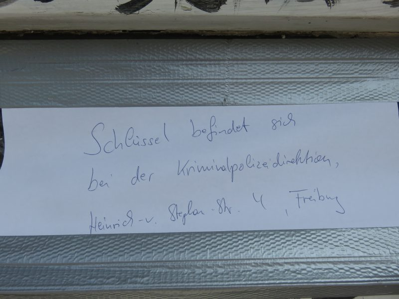 KTS Freiburg Basler Strasse