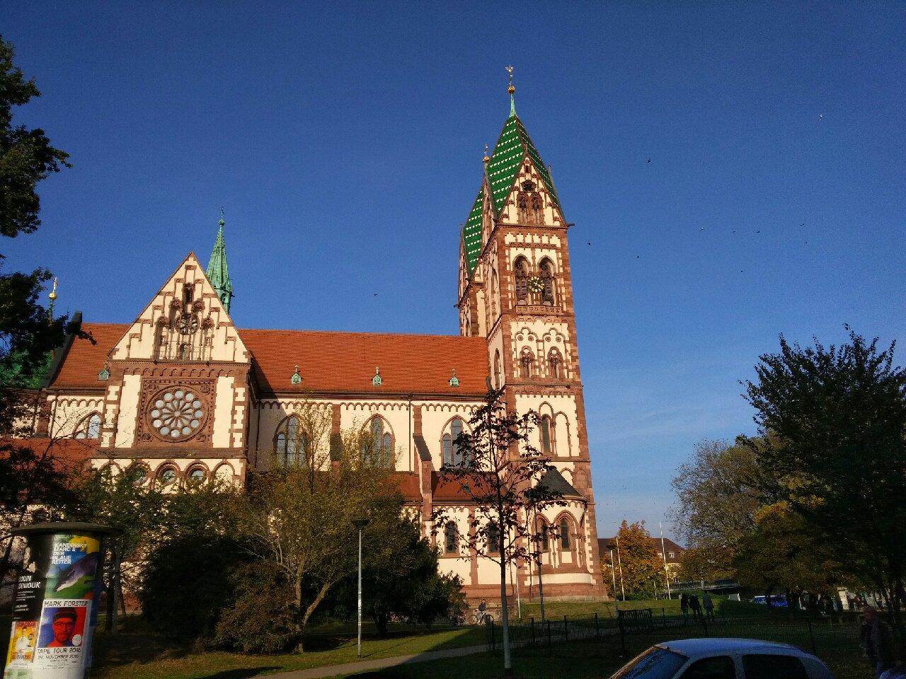 Freiburg Kirche Stühlinger