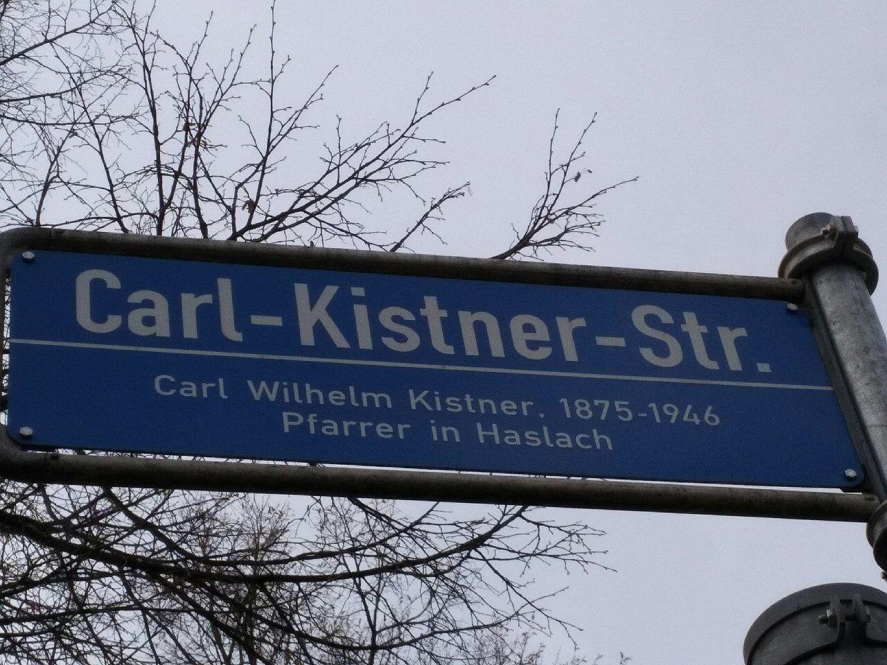 Carl-Kistner-Strasse in Freiburg - Haslach