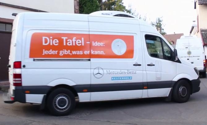 Freiburger Tafel Fahrzeug