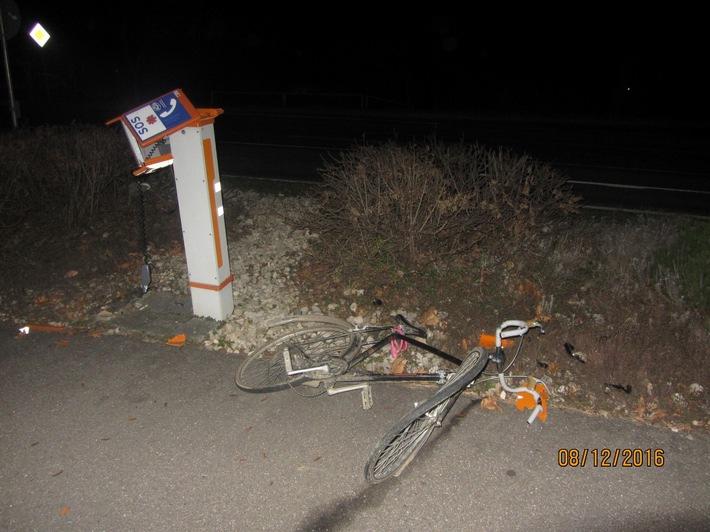 Buggingen Unfall Fahrrad Polizei