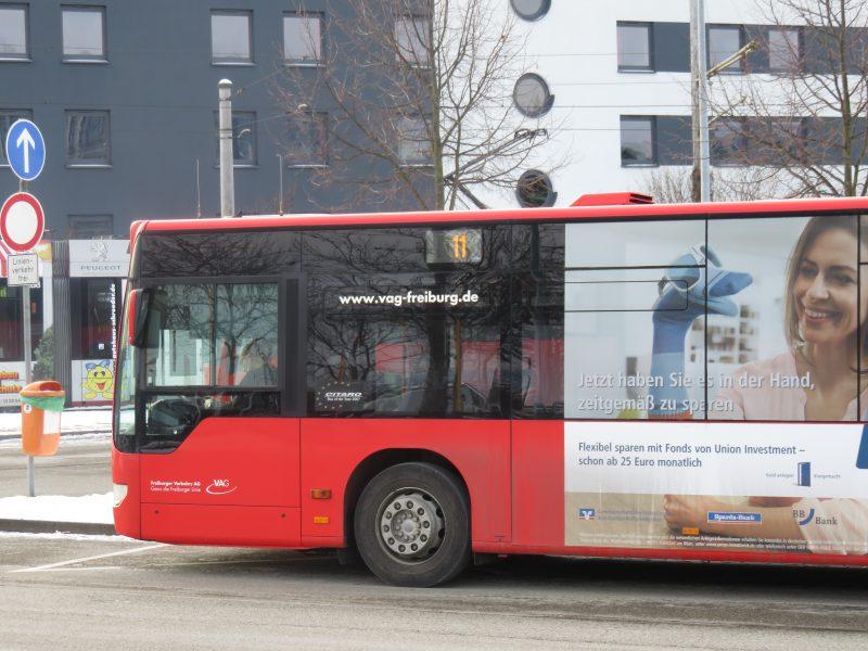 VAG Bus Linie 11 - Freiburg Nachrichten