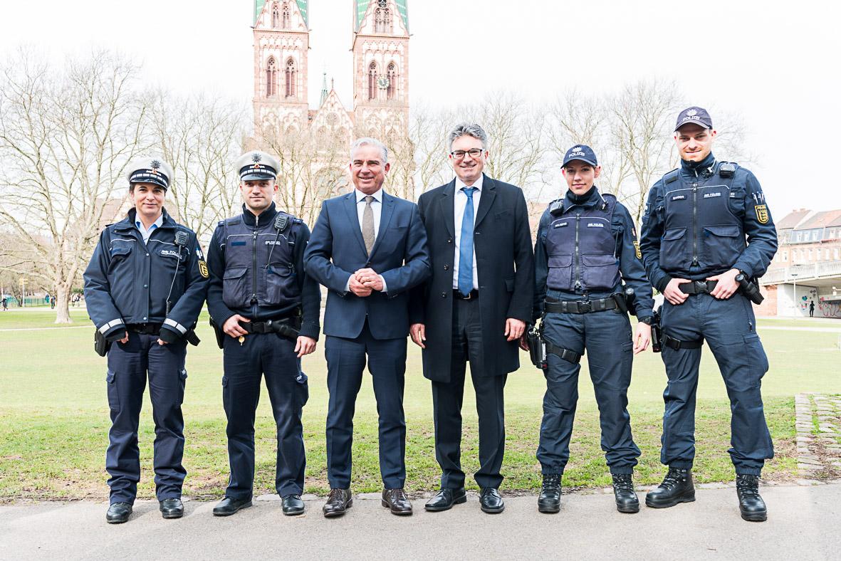 Polizei-Stuehlinger-Kirchplatz-Freiburg