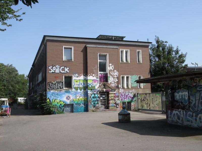 KTS Gebäude Basler Strasse Freiburg - Hausdurchsuchung linksunten