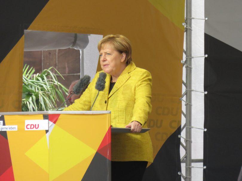Angela Merkel in Freiburg Rede
