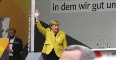 Angela Merkel in Freiburg 18.9.2017