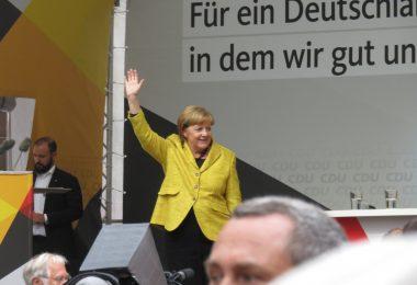 Angela Merkel in Freiburg 18.9.2017