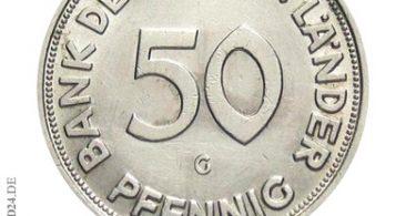 50 Pfennig 1950 Bank deutscher Länder G