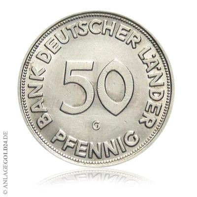 50 Pfennig Aus Der Spardose Können Mehr Als 100 Euro Wert Sein