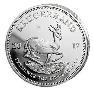 Krügerrand in Silber