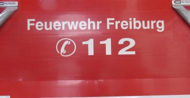 Feuerwehr Freiburg Silvester