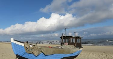 usedom-strand-fischerboot