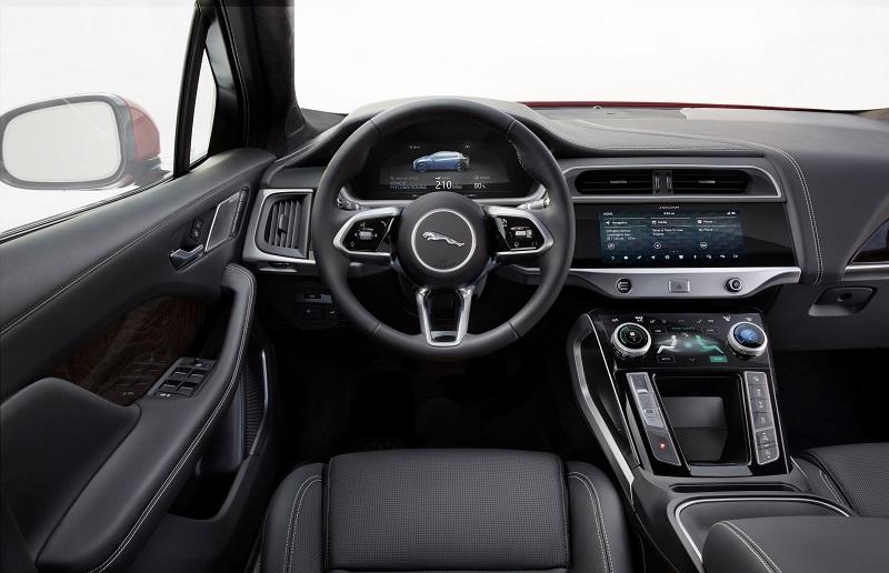 Jaguar i pace innen elektroauto