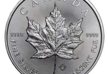 Maple Leaf Silber münze 2018