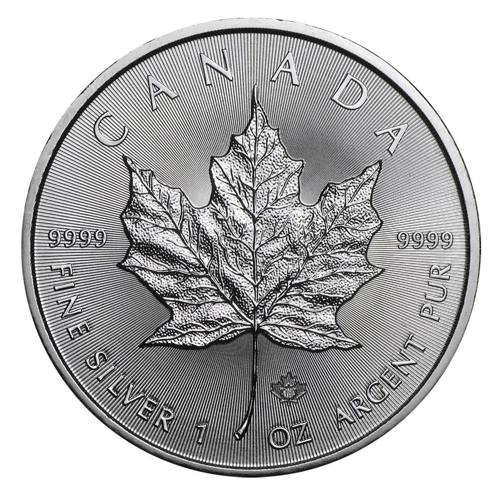 canadian maple leaf silver coins - 1000×998
