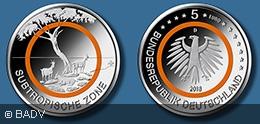Subtropische Zone 5 Euro 2018