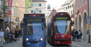 strassenbahn vag rvf Regiokarte Freiburg