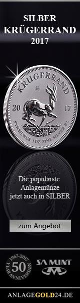 Anlagegold Silber Krügerrand