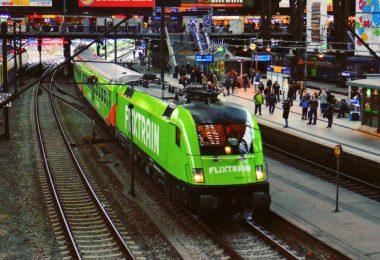 Flixtrain Zug Freiburg-Hamburg