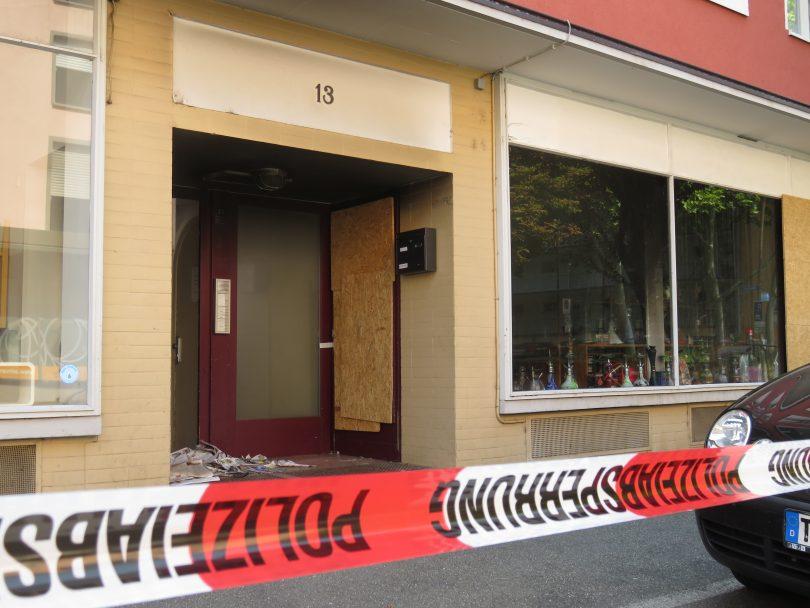 Shisha Laden Brandstiftung Freiburg Lehener Strasse