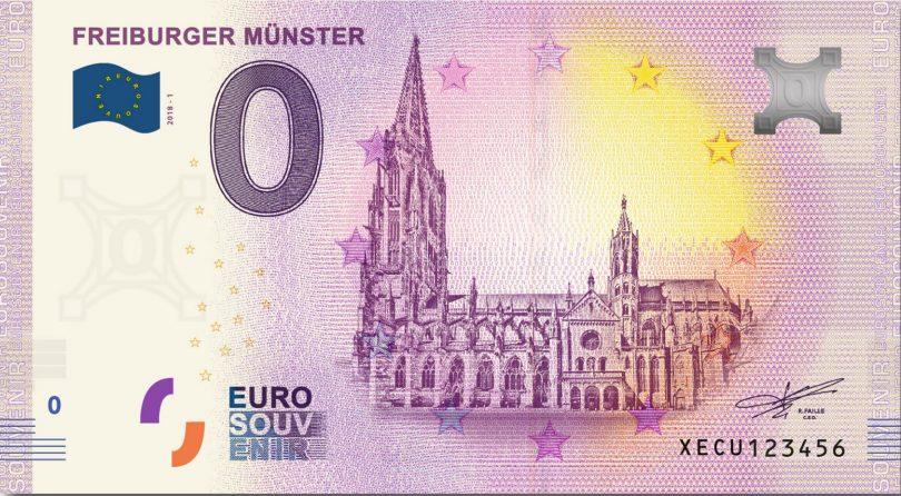 Freiburg Ab 12 10 Gibt Es In Freiburg Auch Einen Null Euro Schein