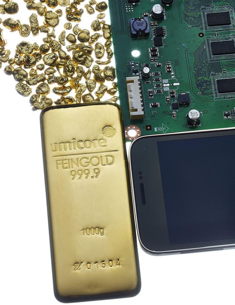 Gold aus Elektroschrott