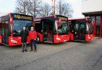 Neue Diesel Busse der VAG Freiburg
