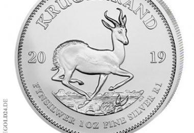 Krügerrand Silber 2019 1oz