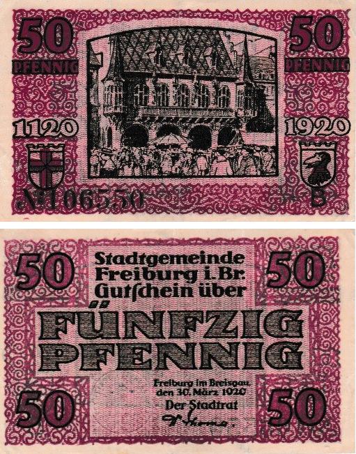 Notgeld-Freiburg-historisches-kaufhaus-1920-eigen