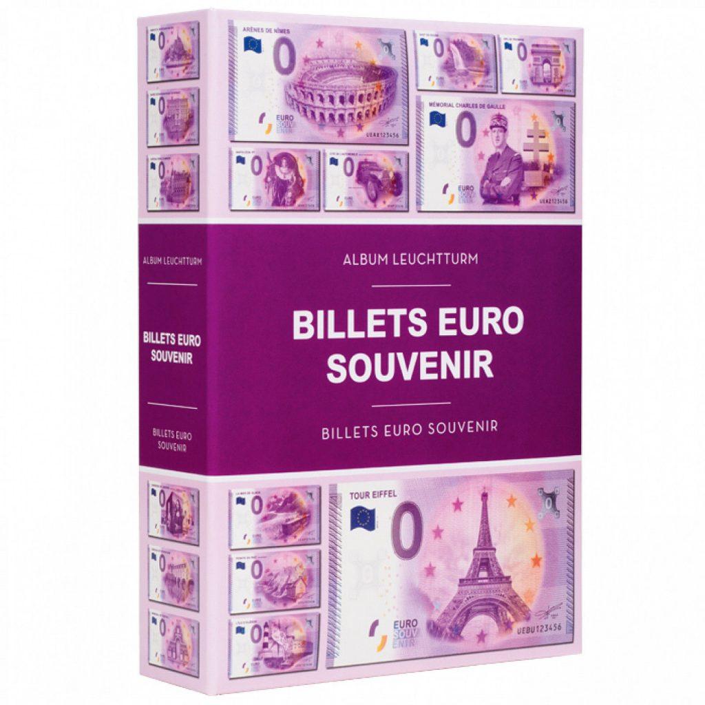 Sammelalbum Null Euro Scheine