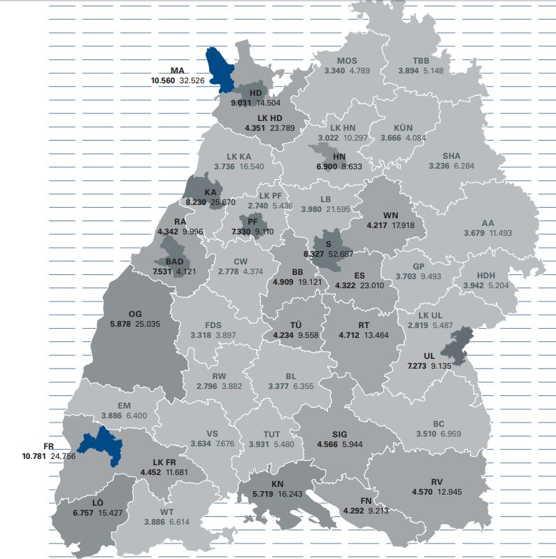 Straftaten Baden Württemberg