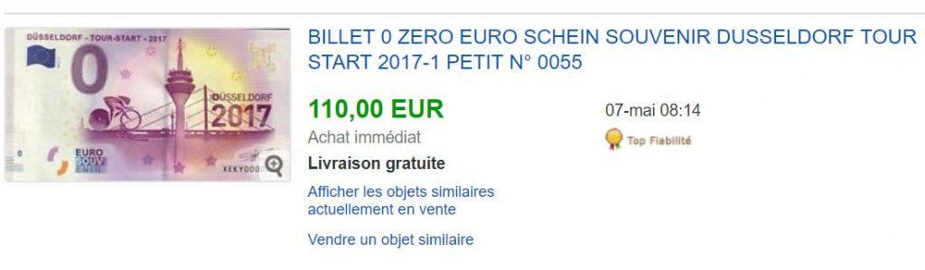 Null Euro Schein Düsseldorf
