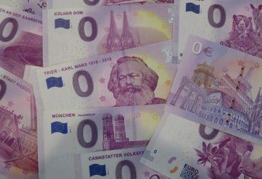 Null Euro Scheine