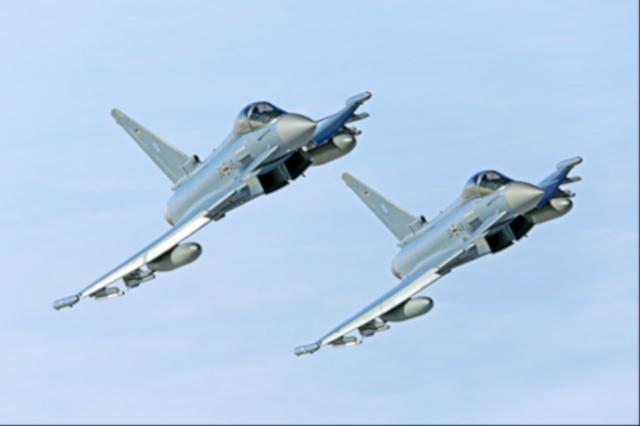 Eurofighter Bundeswehr (Quelle: Luftwaffe/Stefan Petersen)