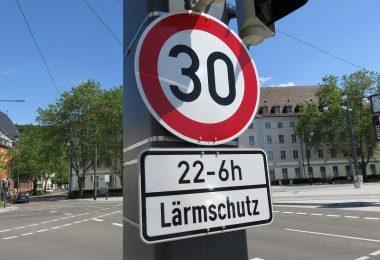 Tempo 30 Freiburg Lärmschutz