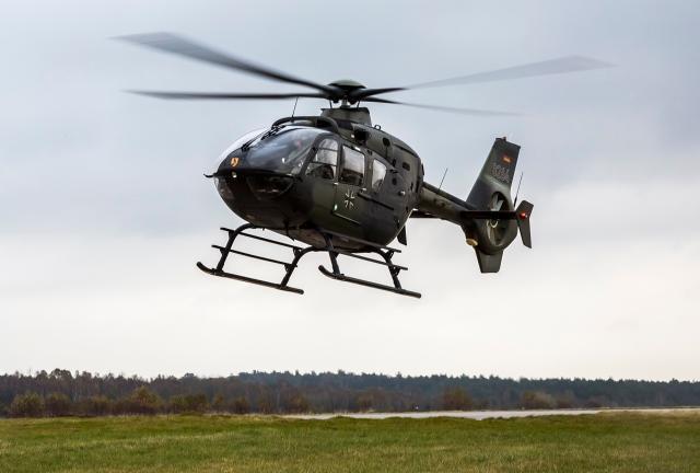 Hubschrauber Bundeswehr abgestürzt Eurocopter