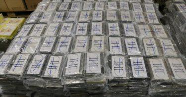 Kokain Hamburg Zoll Tonnen Container