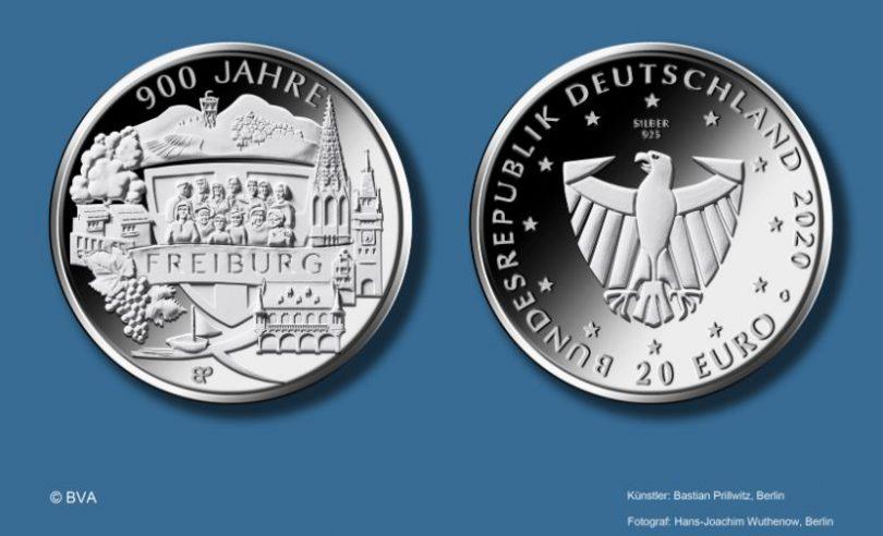 Freiburg-900-jahre-silbermuenze-2020-silber