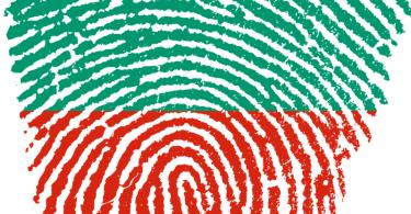 Türke Fingerabdruck