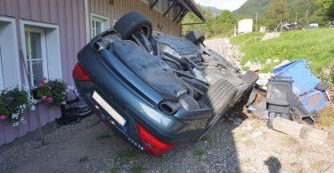 Todtnau Brandenberg Unfall Pkw B317