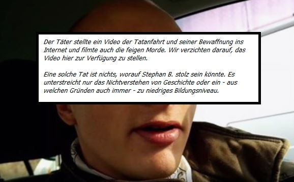 Täter Stephan B. aus Eisleben