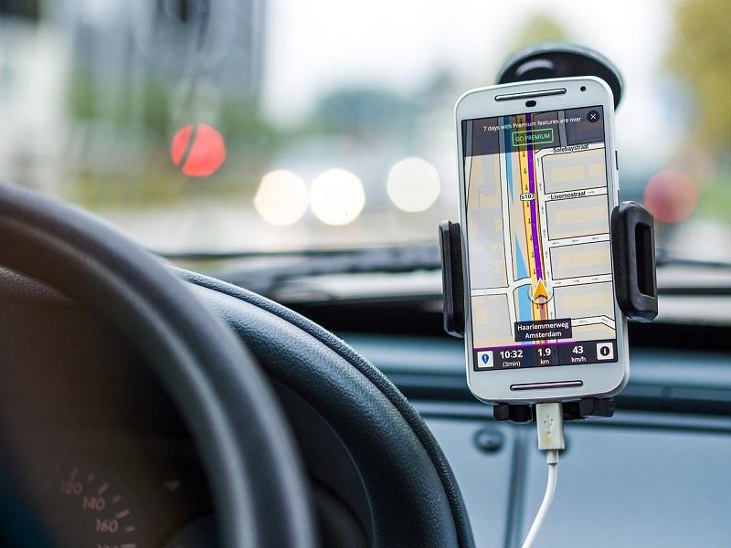 Navigations App Smartphone